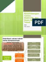IBD TOPIK 6 Sistem Keseimbangan Cairan, Elektrolit, dan Asam Basa Tubuh