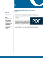 Case Study - Hispanic Business Initiative Fund