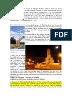 A Origem Do Município de Castelo Do Piauí Data Do Início Do Século XVIII
