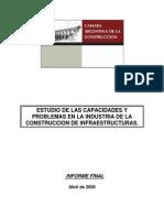 Estudio de Las Capacidades y Problemas en La Industria de La Construcción de Infraestructuras