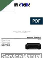 Philips Fa920 Service