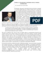 (1) GUILLERMO MORENO, EL PRESIDENTE ESPERADO POR EL PUEBLO DOMINICANO
