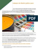 Cómo Preparar Trabajos de Diseño Gráfico Para Imprenta
