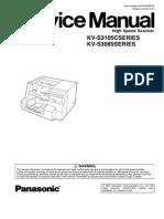 Service Manual Incl. Parts KV-S3105C_KV-S3085