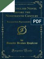 The English Novel Before the Nineteenth Century 1000036381 1