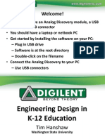 Digilent.hands-On Discovery for Analog Electronics Education