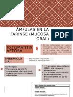Lesiones en mucosa oral ORL