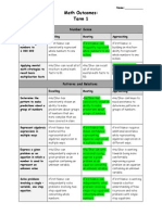 math term 1 student portfolio