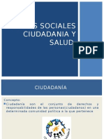 Diapos Realidad Nacional Ciudadania y Salud 2