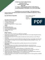 CCHSStrategicPlanYearIII2015-16 (1)