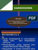 Syok Kardiogenik Khs Koreksi Ppt