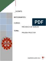 Informe de Laboratorio Proctor