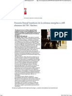 27-11-15 Presenta Bernal Beneficios de La Reforma Energética a 600 Alumnos Del TEC Madero