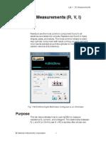 Lesson Plan - DC Measurements(1)