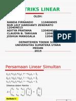 Matriks Linear..
