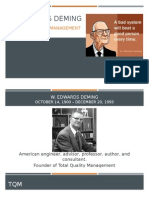 w  edwards deming tqm