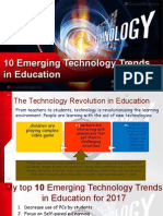 edid6506 10 emerging technology trends in education ppt 1
