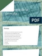libreta de prostata