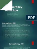 martinezjoneslisacompetency reflection pdf