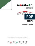 Manual Paradox Magellan Spectra Instalacion