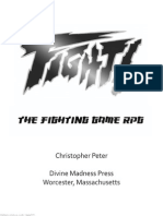 Fight the Fighting Game RPG