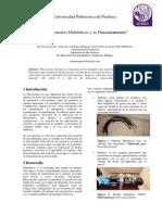 """""""Componentes Hidráulicos y su Funcionamiento"""""""