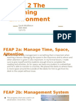 feap 2 the learning environment