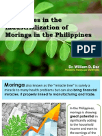 challenges in the industrialization of moringa in the philippines