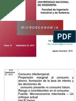 Clase 10 Consumo Intertemporal Sept23