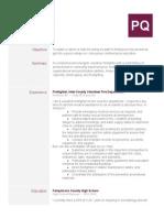resumeforseniorproject
