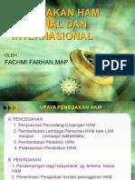 8. Penegakan Ham Nasional Dan Internasional