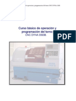 Manual Torno Cnc Dyna 3300b