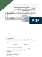 Asignación de Los Pesos de La Ponderación a Las Diferentes Causas Del Diagrama Ishikawa