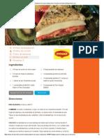 Sándwich de Queso Mozzarella _ Recetas de Nestlé _ ElMejorNido
