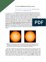 SORCEwebsite News Solar Cycle