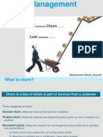 Churn Management