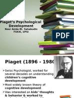 Lect 09 Piaget_s Psychological Development