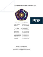 Laporan Praktikum Fitofarmasi Kelompok 3