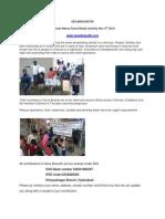 SEVABHARATHI Flood Relief Activity Chennai rains