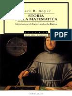 Carl B. Boyer - Storia Della Matematica (1990)