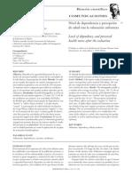 Nivel de dependencia y percepción de salud tras la valoración enfermera