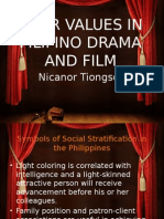 Four Values in Filipino Drama and Film
