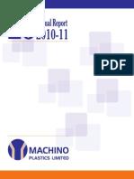 52 Res MachinoPlastic AnnualReport 2010-11