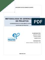 Metodologia de Gerenciamento de Projetos Do Pjrn