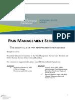 Lumbar ESI- SIR Pain Survival Guide