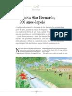 A Nova São Bernardo 200 Anos Depois