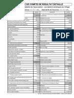 02 Exemple de Compte de Resultat Detaille