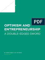 Optimism and Entrepreneurship - A Double-Edged Sword
