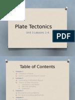 plate tectonics unit 3