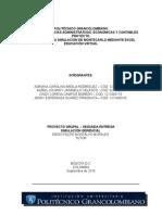 Proyecto Grupal - Simulacion Gerencial 2a Parte
